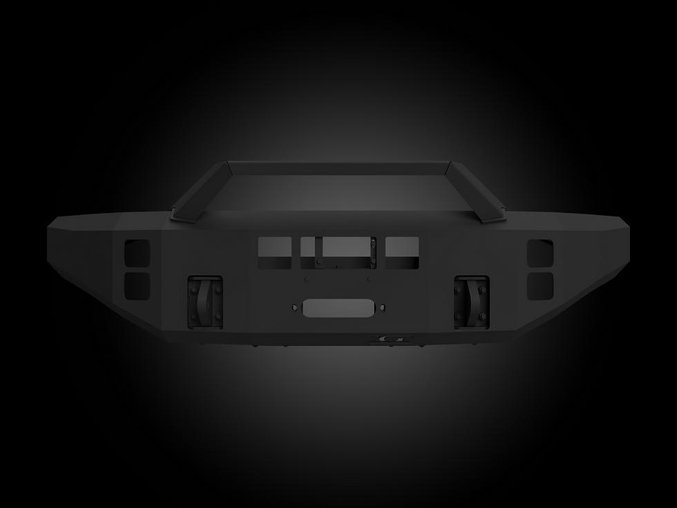 AL-FBM12FDN-RT Ford-Superduty-Aluminum-Bumper-Winch-Alumilite