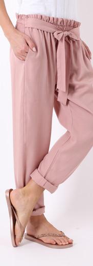 ロングパンツ リボン Light pink