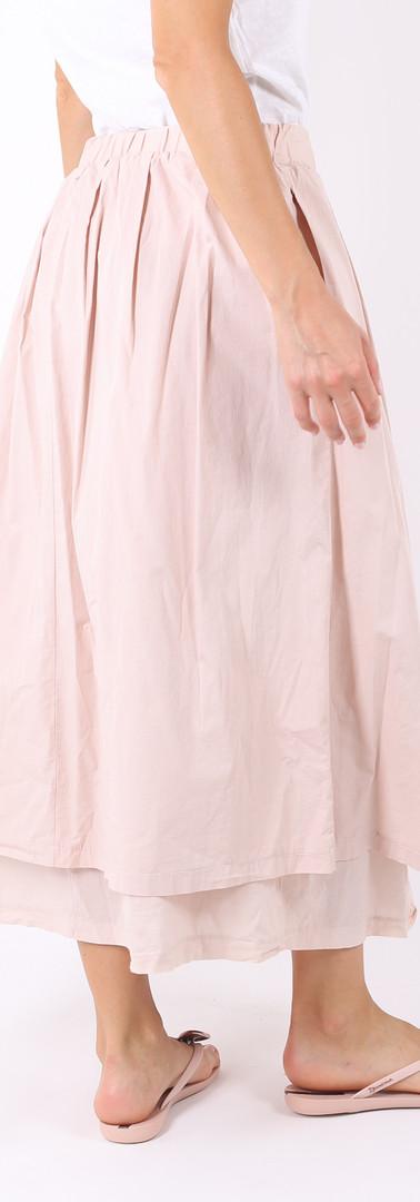 ロングスカート ポケット付き Light pink