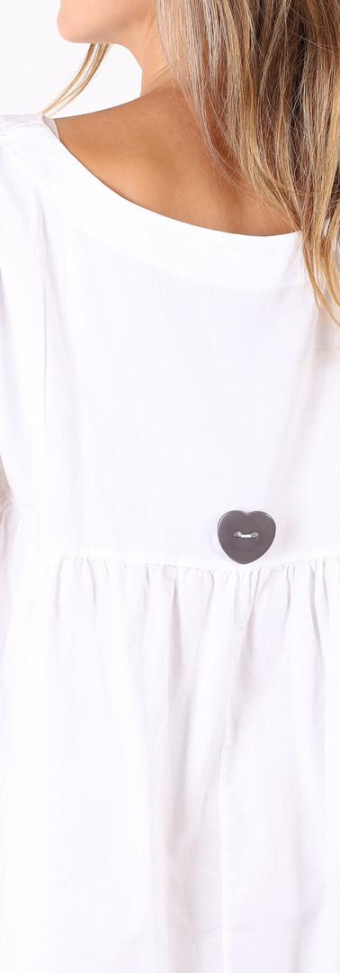 ドレス ロング ニット White