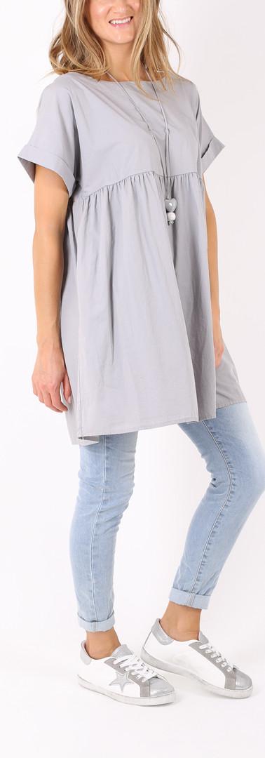 ドレス ロングニット Light grey
