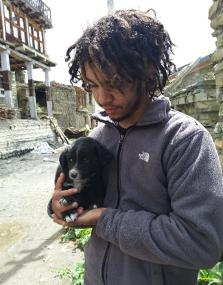 Puppy moves to Kathmandu