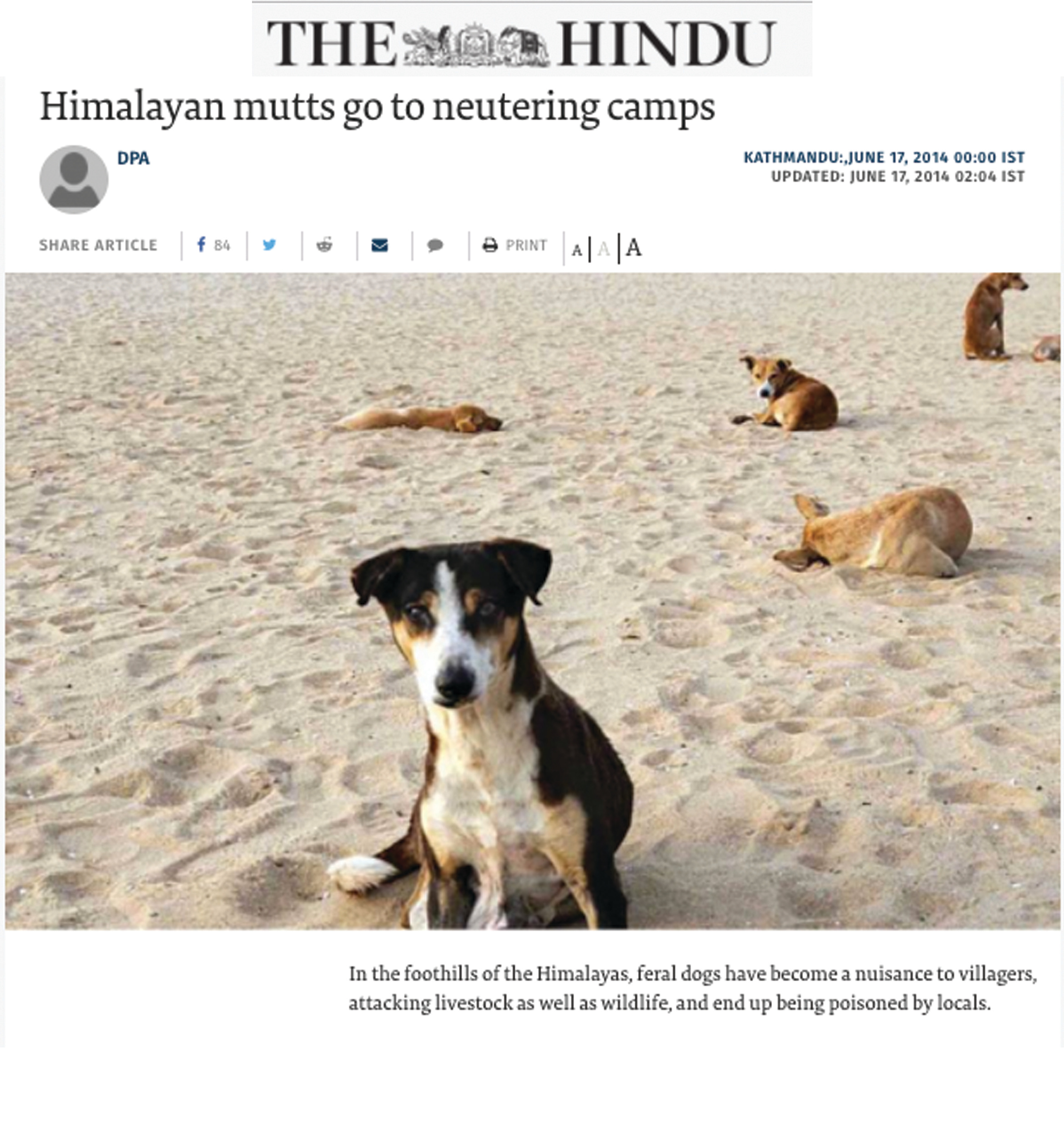 The Hindu, 17 Jun 2014