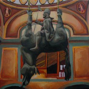 """Wenceslas"", oil on canvas, 2006"