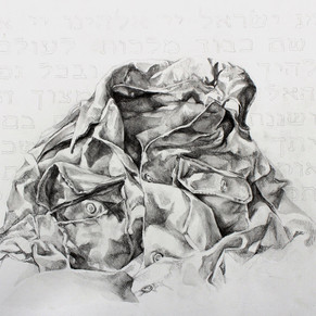"""in service"", graphite on cotton rag, 2011"