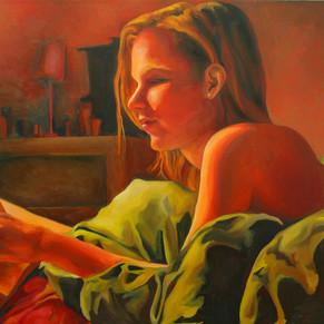 """sharon"", 20 x 30, oil on linen"