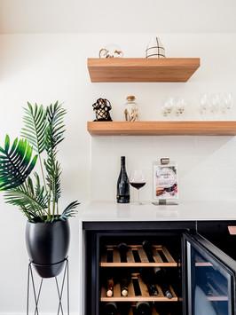 Penthouse wine fridge