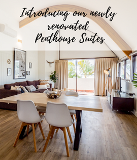 Penthouse - self contained apartment