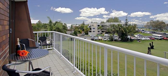 Upper Apartment Balcony