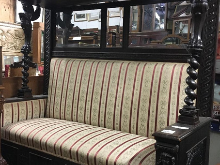Visit our Main St. store to view our  selection of furniture from various eras.