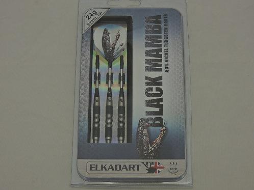 Elkadart Black Mamba Steel Tip Darts 24 Gram