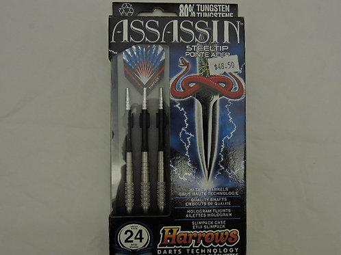 Harrows Assassin Steel Tip Darts