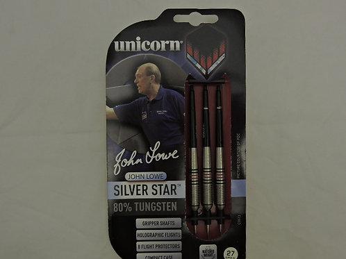Unicorn John Lower Silver Star Edition Darts