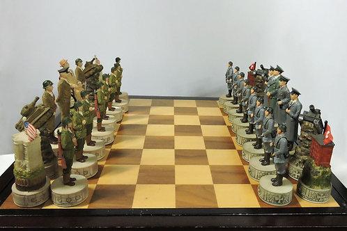 World War II Chess Piece Set