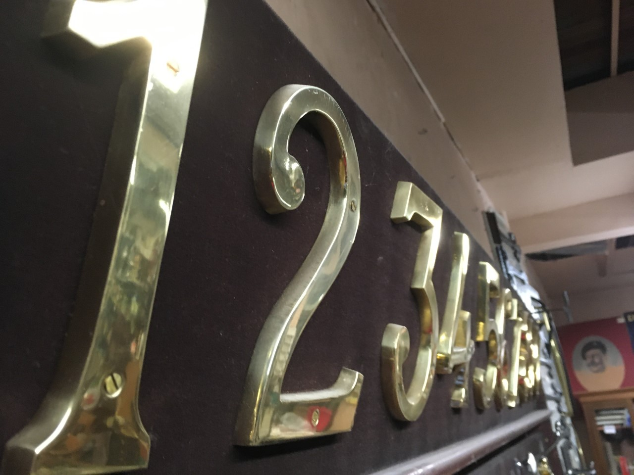 brass numbers 1