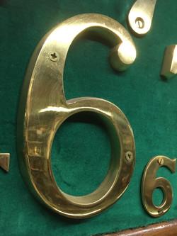 brass number 9