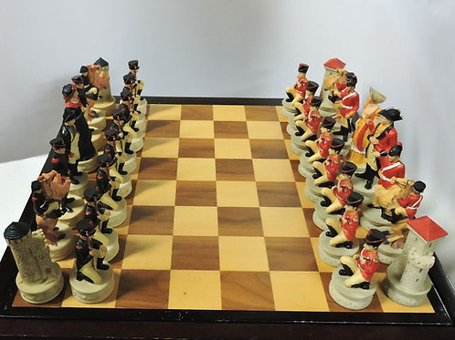 Battle of Waterloo Chess Piece Set