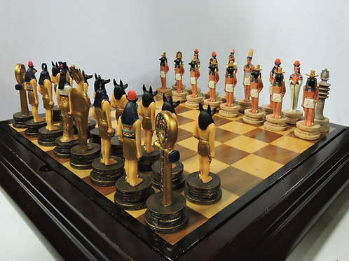 Ancient Egypt Chess Piece Set