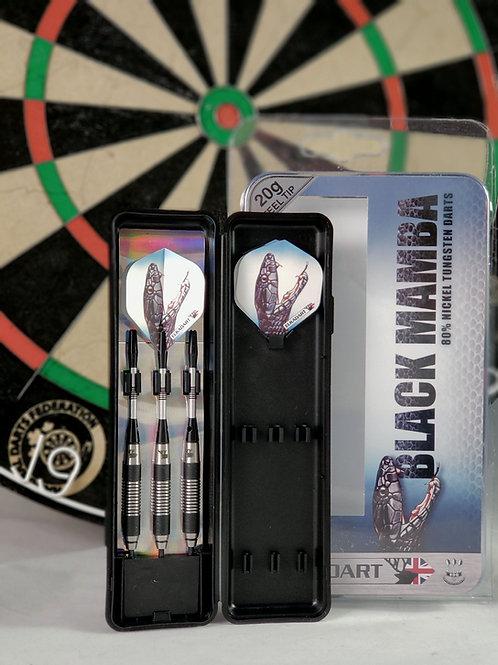 Black Mamba Steel Tip Darts 20 Gram