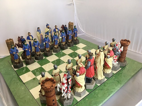 Crusaders Chess Pieces