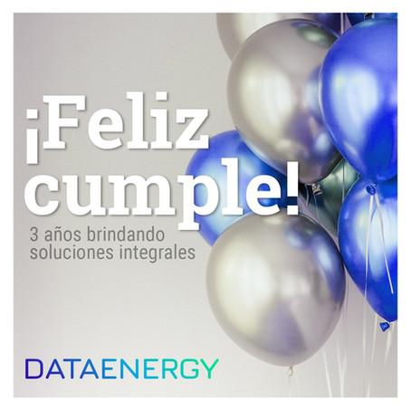 Festejamos los 3 años de Data Energy S.R.L.