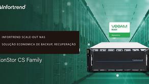 Infortrend Scale-out NAS, uma solução económica de backup e recuperação