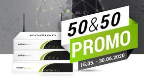 Endian Pre-Summer Promo : 50% desconto na manutenção e 50% desconto no Hardware Wi-FI
