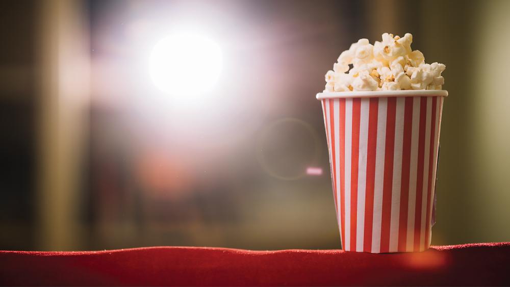 Classic movie snack - Popcorn