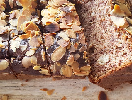 Smeuïg bananenbrood  (glutenvrij)