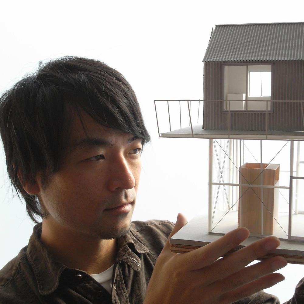 Ritratto dell'architetto Yo Shimada