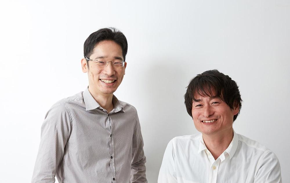 Shintaro Fujiwara (left) - Yoshio Muro (right)