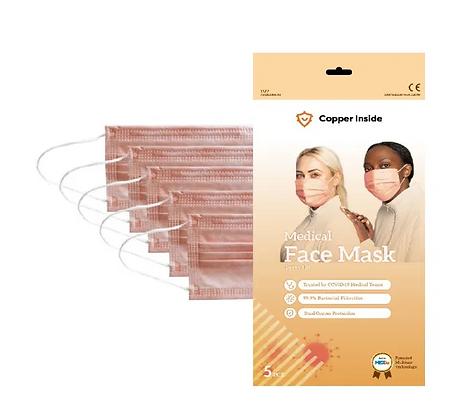Sachet de 5 masques Copper Inside