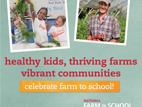Celebrate National Farm to School Month in October