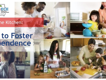 Kids in the Kitchen: Ways to Foster Independence