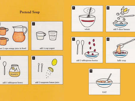 BOOK REVIEW: Pretend Soup and Other Real Recipes: A Cookbook for Preschoolers and Up (By Mollie Katz