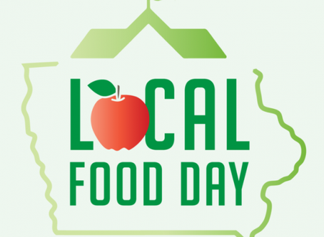 """Iowa Local Food Day: Let's """"Root"""" for Iowa Farmers!"""