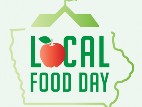 "Iowa Local Food Day: Let's ""Root"" for Iowa Farmers!"
