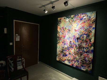 Private Opening Studio During the Pandemic in Singapore 新加坡疫情中的藝術工作室展覽