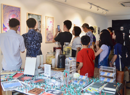 First Solo Exhibition in Malaysia