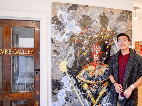"""Exhibition in London, """"Contemporary Paintings"""" at Bricklane Gallery"""