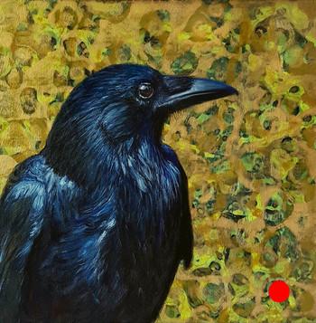 Huginn (Thought) Odin's Raven