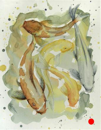 Capering Koi