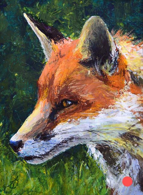 Fox Acrylic