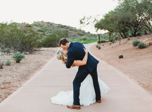 Stewart & Angela | Firerock Country Club | Fountain Hills, Arizona Wedding
