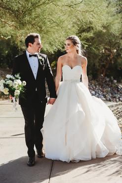 Beuatiful desert wedding in scottsdale Arizona. Christina J Photography