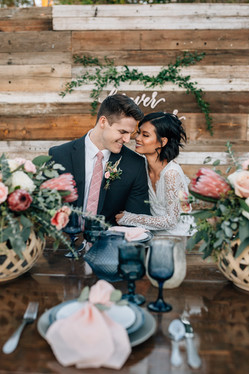 Arizona Wedding photographer captures beautiful details and a loving couple. Christina J Photography.
