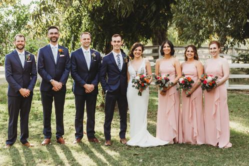 Arizona Wedding with bold colors and greenery. Christina J Photography