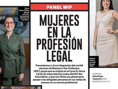 Panel Wip: Mujeres en la Profesión Legal