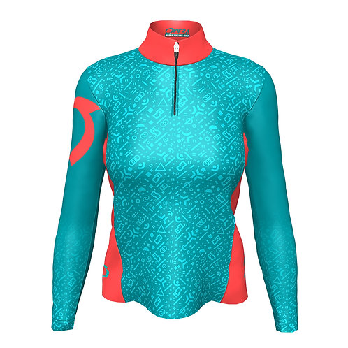 Maillot manches longues running dames