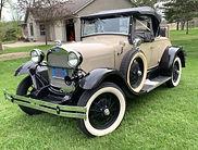 shay model a ford replica